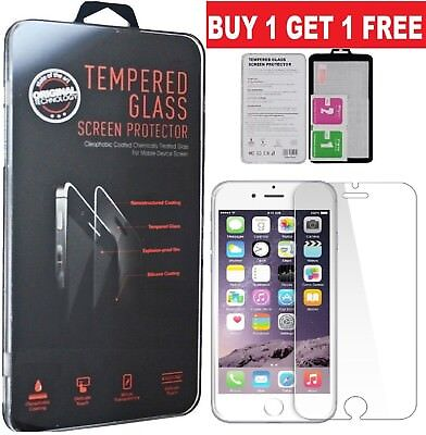 GENUINE TEMPERED GLASS SCREEN PROTECTOR FOR APPLE iPhone