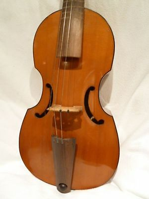 Private COLLECTION to SELL - 18:  A fine older German VIOLA da GAMBA by H.MOECK