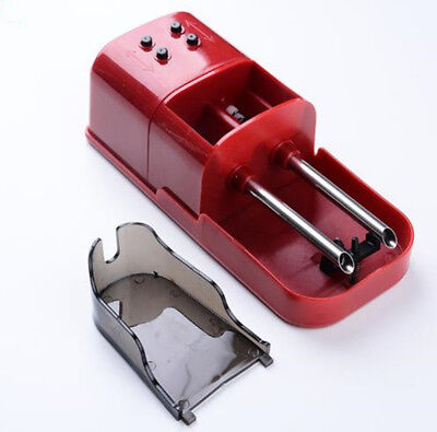 One New Electric Cigarette Injector Machine tobacco Maker Rolling 2 Cigaretee