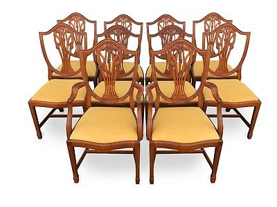 Stunning Sets 8,10 Plus Prince Of Wales Style Dining Chairs Pro French Polished.