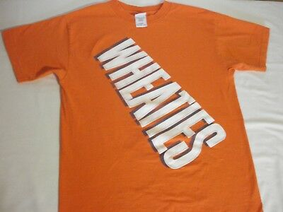 New Vintage WHEATIES Cereal Classic T-Shirt size Medium