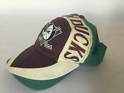 ... sale vintage 1990s anaheim mighty ducks snapback cap nhl hat twins  enterprise 8f307 8e6c6 501b9207c