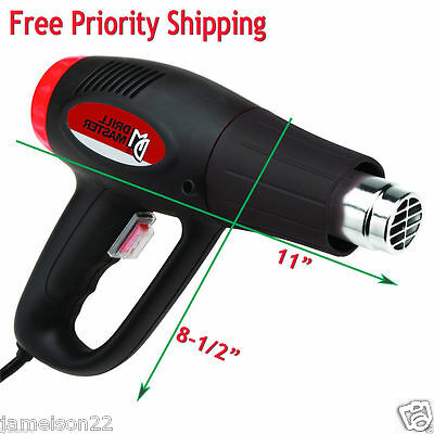 1500 Watt/120 V/dual Temperature Super Heat Gun~572°/1112°~Quick Usa Shipper