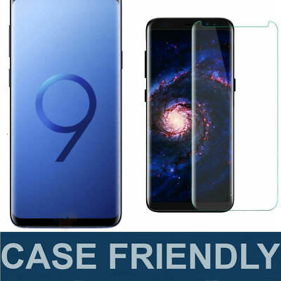 S-Tech Case Friendly Tempered Glass Screen Protector For Samsung Galaxy S9 /Plus