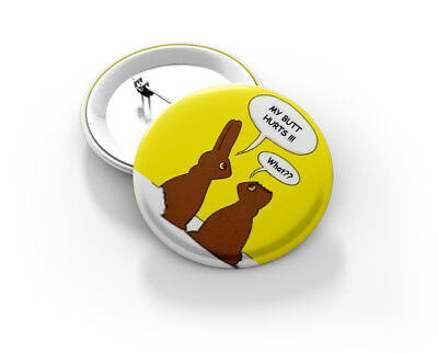 Easter Button Badge - BRAND NEW