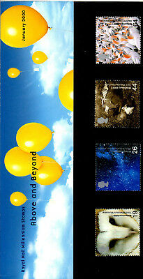 2000 Above and Beyond  Commemorative Pack - Royal Mint & 1st Day Cover