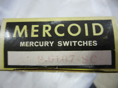 Mercoid 9-6107-SC Mercury Switch 9-61SC NEW!!! in Box Free Shipping