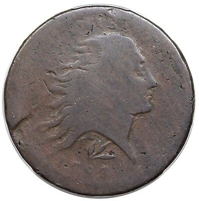 1793 Wreath Cent, Lettered Edge, S-11c, R.3, PCGS FR02