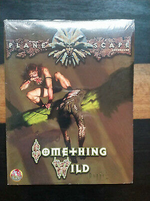 "Ad&D 2nd Edition - PLANESCAPE - Abenteuer ""Something Wild"" NEU"