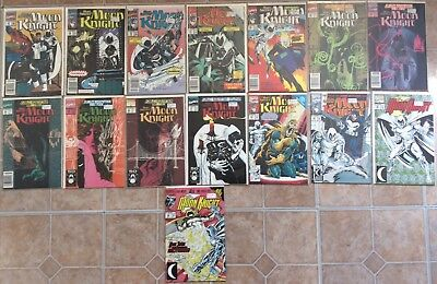 Moon Knight big 15 book lot, High Grade