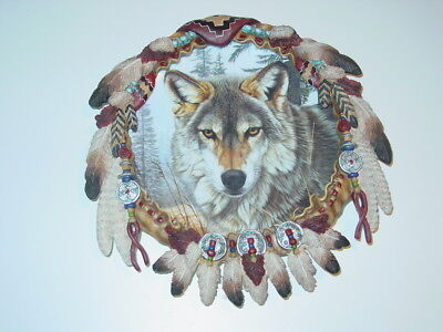 The Hamilton Collection Autumn Majesty Protector of the Wolf Shield Collection