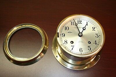 Chelsea Ships Clock Polished Brass
