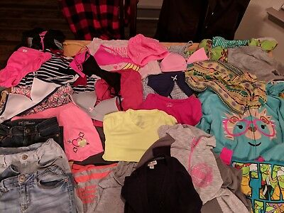 Girls clothing 33 pieces size 10, 12 & 10/12 mixed lot, gently used