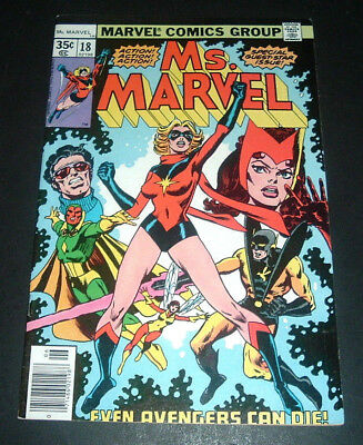 Ms. Marvel #18 ~ Marvel Comics Group ~ Mystique And The Avengers