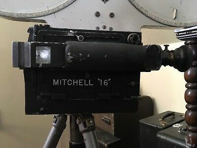 MITCHELL 16mm Pro Motion Picture Camera With 1200ft Mag