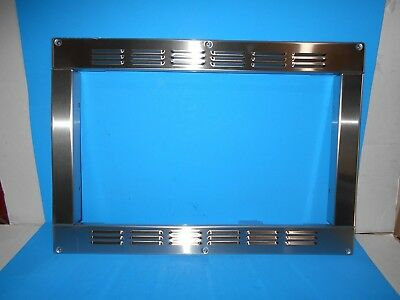 High Pointe Microwave Oven Trim Kit Built In Stainless Steel Ec028bnc S