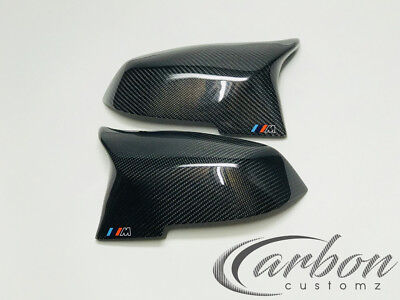 BMW M3/M4 Style Carbon Fibre Mirror Covers 1/2/3/4 F Series M performance M Tech
