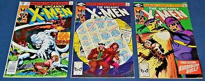 X-Men #140,141,142~Days Of Future Past~John Byrne~ Chris Claremont~FN- to FN