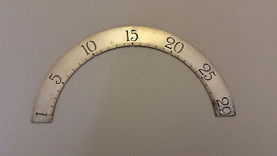 Vintage Moon Phase Dial from Face of Case Clock