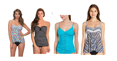 Lot of 50 Profile by Gottex Tankini Top, Swimsuit~Size 8~Packed~NWT~RETAIL $4500