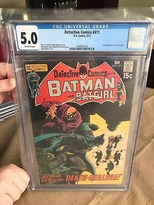 Detective Comics 411 CGC 5.0 off white pages 1st appearance of Talia Al Ghul