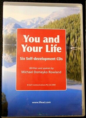 YOU & YOUR LIFE: 6 SELF-HELP DEVELOPMENT CDs: MICHAEL DOMEYKO ROWLAND - VGC Aust