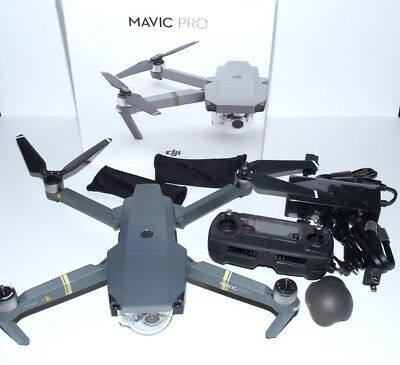 DJI Mavic Pro Folding Drone Quadcopter- 4K Stabilized Cameral, Active Track,GPS