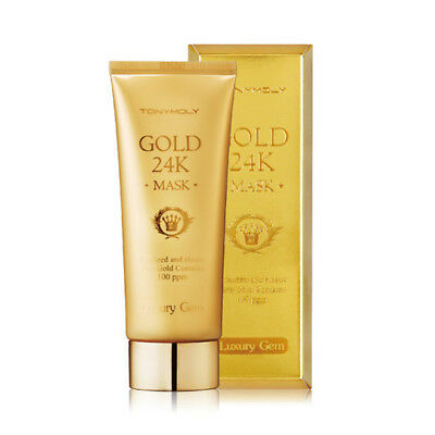 Tonymoly LUXURY GEM GOLD 24K MASK pure GOLDMASKE ANTIFALTEN ANTI-AGING 100ml