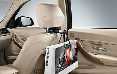 Headrest Universal Hook with Base Carrier (BMW Travel Comfort System)