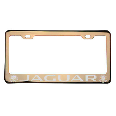 Luxury Rose Gold Jaguar Automatic Buckle Belt Genuine Leather Strap