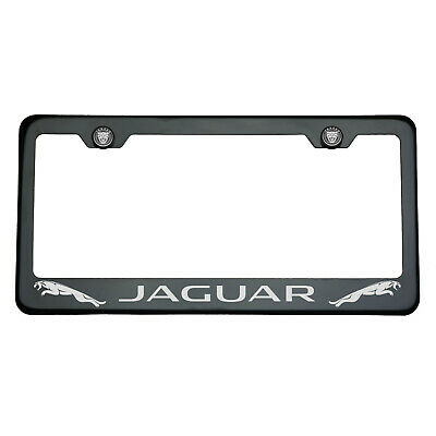 Power Coated Frame Holder Yellow Stainless Steel License Plate Jeep Jaguar Fiat