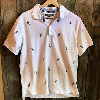 ad8a7be68 TOMMY HILFIGER MEN'S Parrot Slim Fit Polo Golf Shirt, Size XL - C4 ...