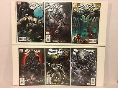 Moon Knight 51 Comic Lot 1-30 Annual 2006 Vengeance of the 1-10 2009 Marvel 2016
