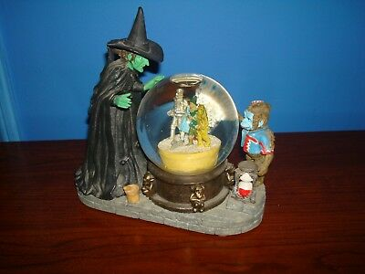 Wizard of Oz Wicked Witch Musical Water Globe 1995