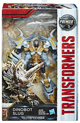 SLUG last knight transformers 5 premier edition action figure toy NEW dinobot
