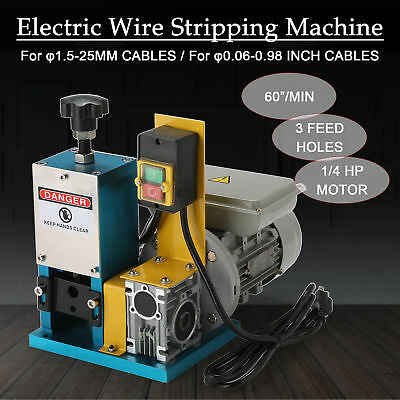 Electric Wire Stripping Machine Portable Scrap Cable Stripper for Scrap Copper