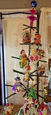 Christopher Radko; Ornament of the Month,April'01thru March'02 +topper and tree!