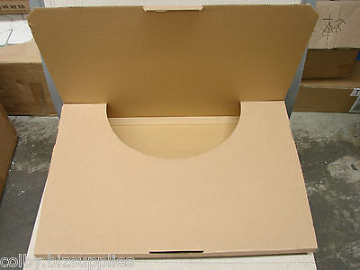 50x A3 Flat Mailing Box 430x300x18mm Cardboard Carton for Shipping, store