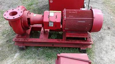 Centrifugal Pump With 20HP Motor 3Phase