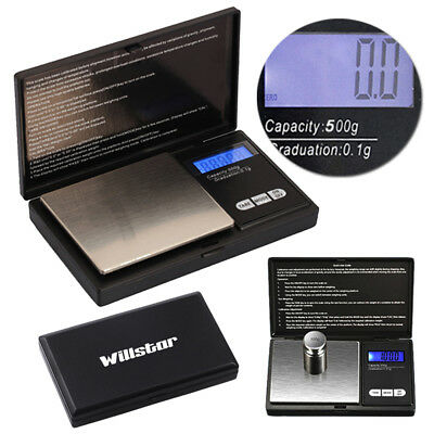 Electronic Pocket Mini Digital Gold Jewellery Weighing Scales 100/200/500 Grams
