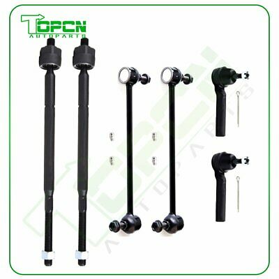 Tie Rod End Kit Inner Outer LH RH Set of 4 for Grand Caravan Town /& Country New