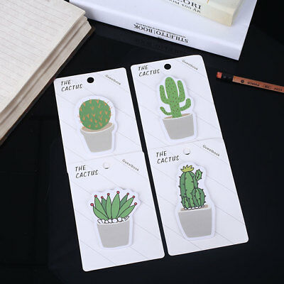 Cute Lovely 4 Pattern Cactus Ablum Accessories Diary Label Sticker