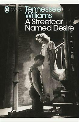 A Streetcar Named Desire by Tennessee Williams Paperback Book Free Shipping!
