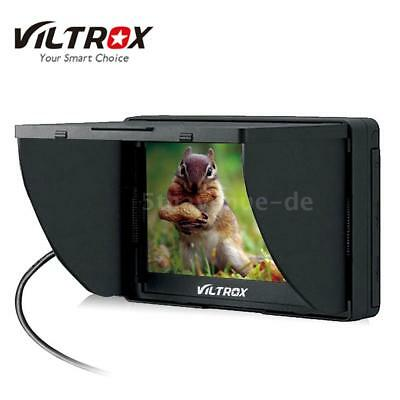 "Viltrox DC-50 HD Clip-on LCD 5 ""'Monitor tragbar Wide View für Canon Nikon W9Z7"