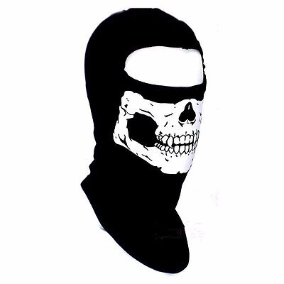 Bandana Novel Skull Motorcycle Neck Scarf Face Mask Bike Helmel Ski Headband