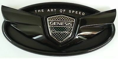 Hyundai Genesis Coupe Glossy Black Wing Emblem Grille Or Trunk