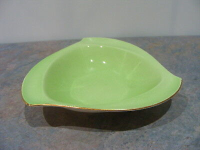 Vintage Royal Winton England Small Three Sided Nut Dish Bowl - Crazed
