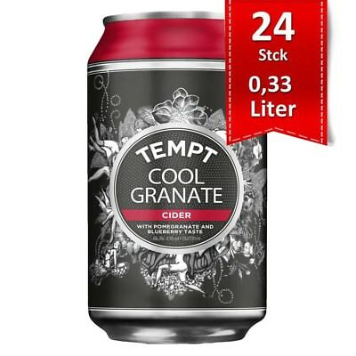 Tempt Cider Cool Granate Pomegranate & Blueberry 4.5% - 24x0,33l