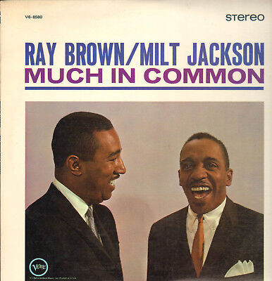 Ray Brown-Milt Jackson-Lp-Much In Common-W. Marion Williams-Verve-Stereo-1964