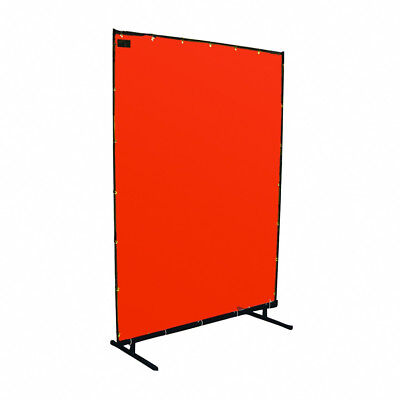 Steiner 53888-HD 8' x 8' Protect-O-Screen Orange Transparent Welding Screen